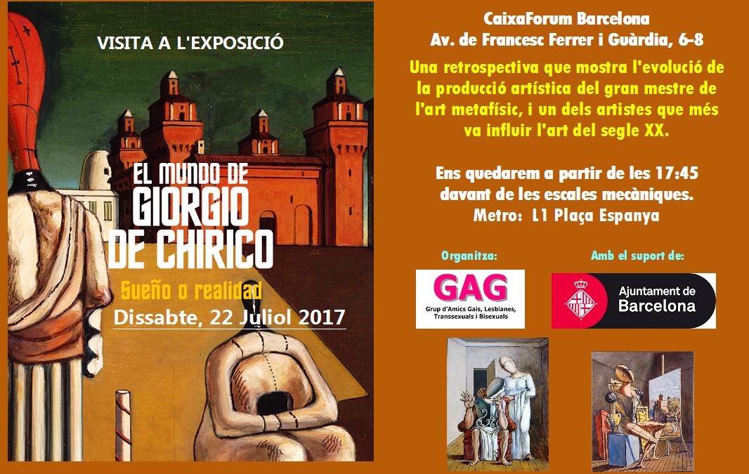 """Visita a l'Exposició """"El Món de Giorgio De Chirico"""""""