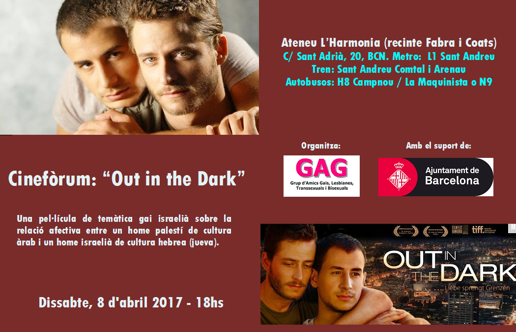 Cineforum: «Out in the Dark»