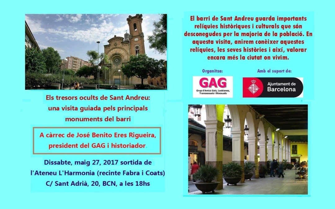 Els Tresors Ocults de Sant Andreu. 27 maig 2017