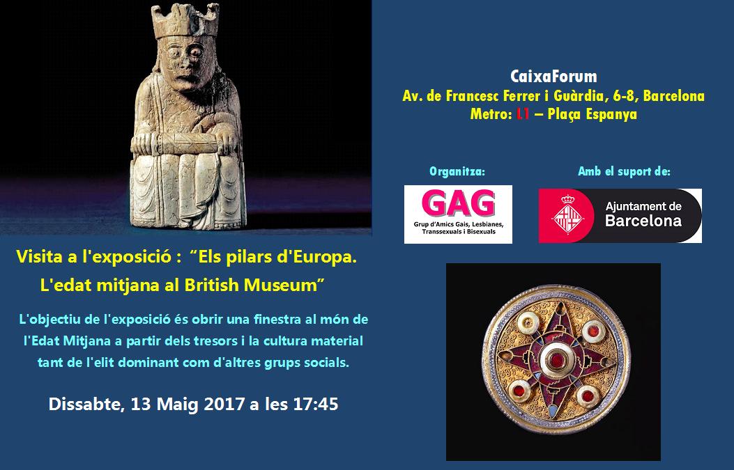 """Visita a l'exposició """"Els Pilars d'Europa"""""""
