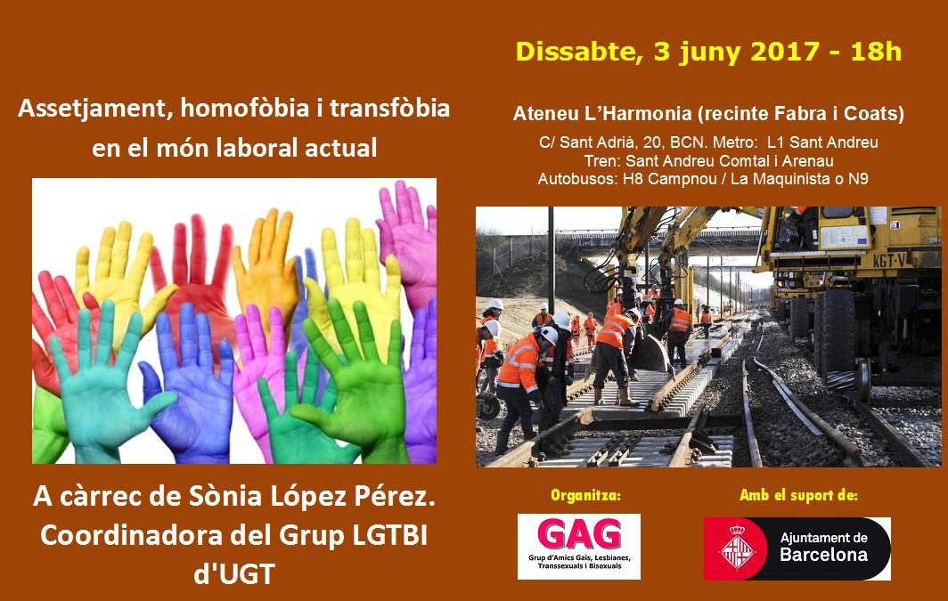 Assetjament, homofòbia i transfòbia en el món laboral actual