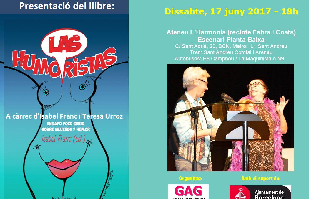 """Presentació del llibre """"Las Humoristas"""""""