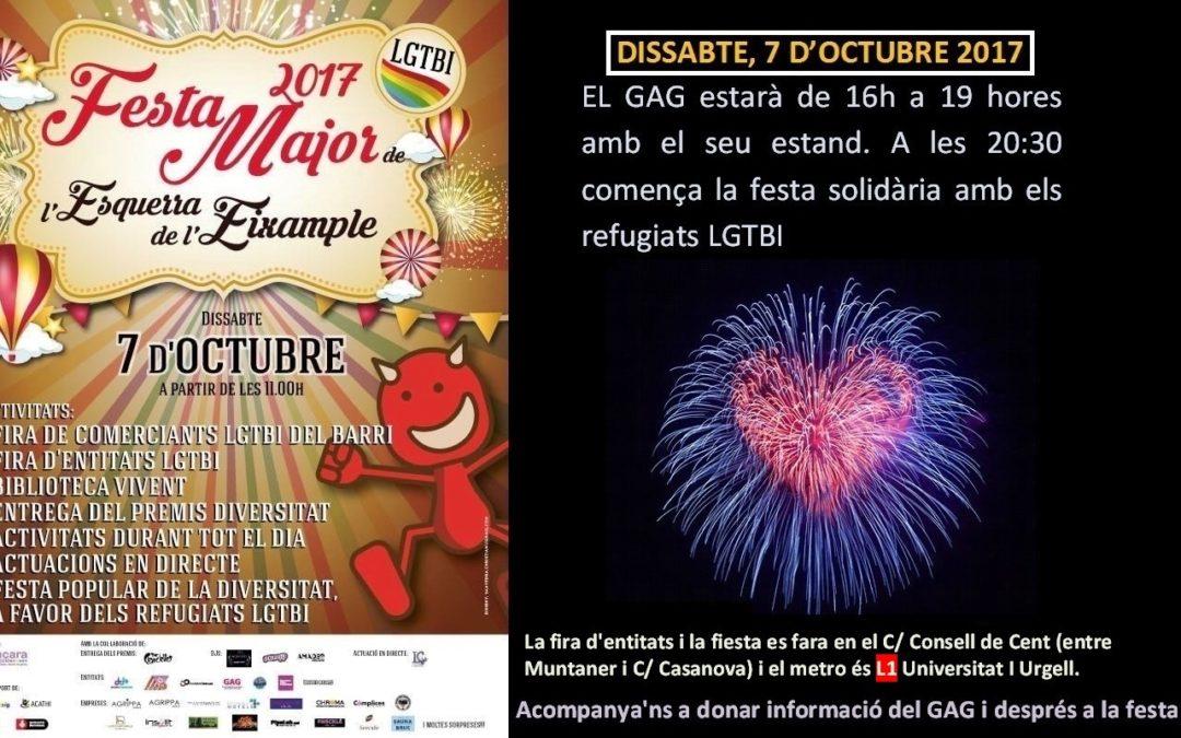 Festa Major de l'Esquerra de l'Eixample 2017 BCN