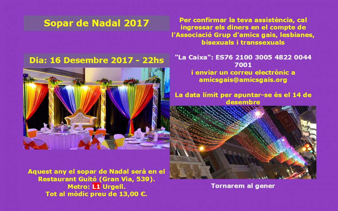 Sopar Nadal 2017