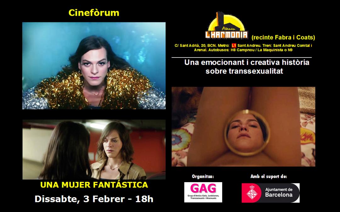Cinefòrum – Una mujer fantástica