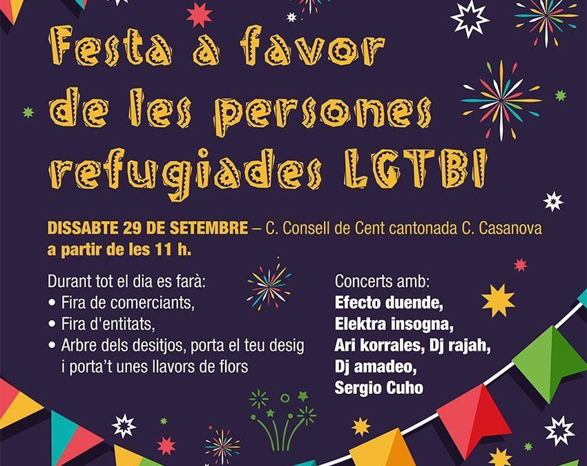 Festa – Personas Refugiadas LGTBI