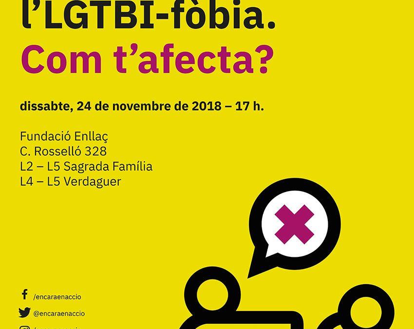 2a Jornada sobre la llei contra la LGTBI-fòbia. 24 Novembre – 17h