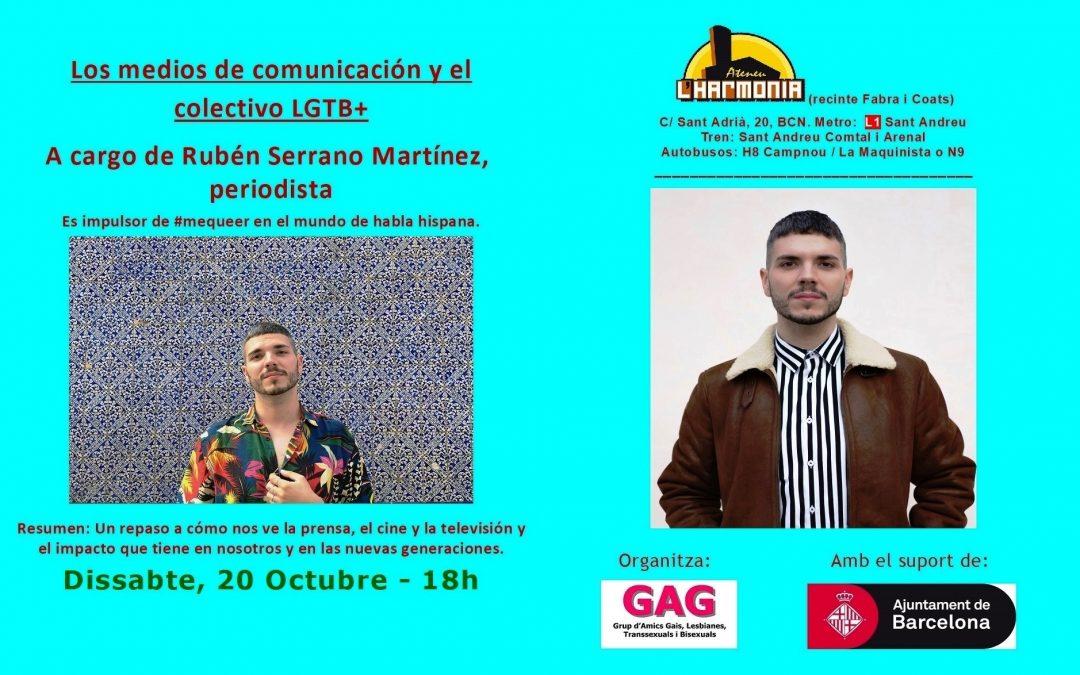 Els mitjans de comunicació i el col·lectiu LGTB+ – 20 Octubre 2018 – 18h