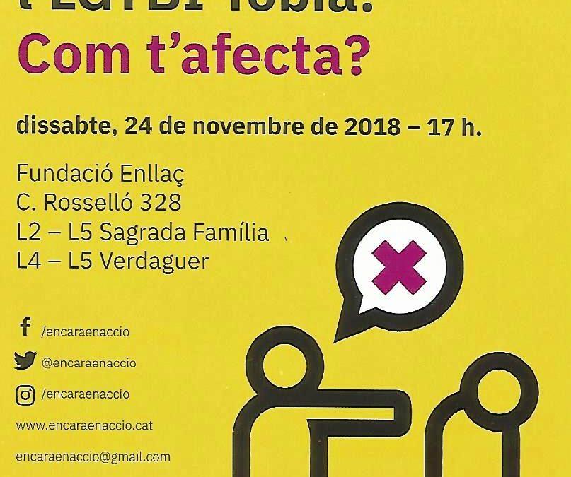 2a Jornada sobre la ley contra la LGTBI-fobia. 24 Noviembre – 17h