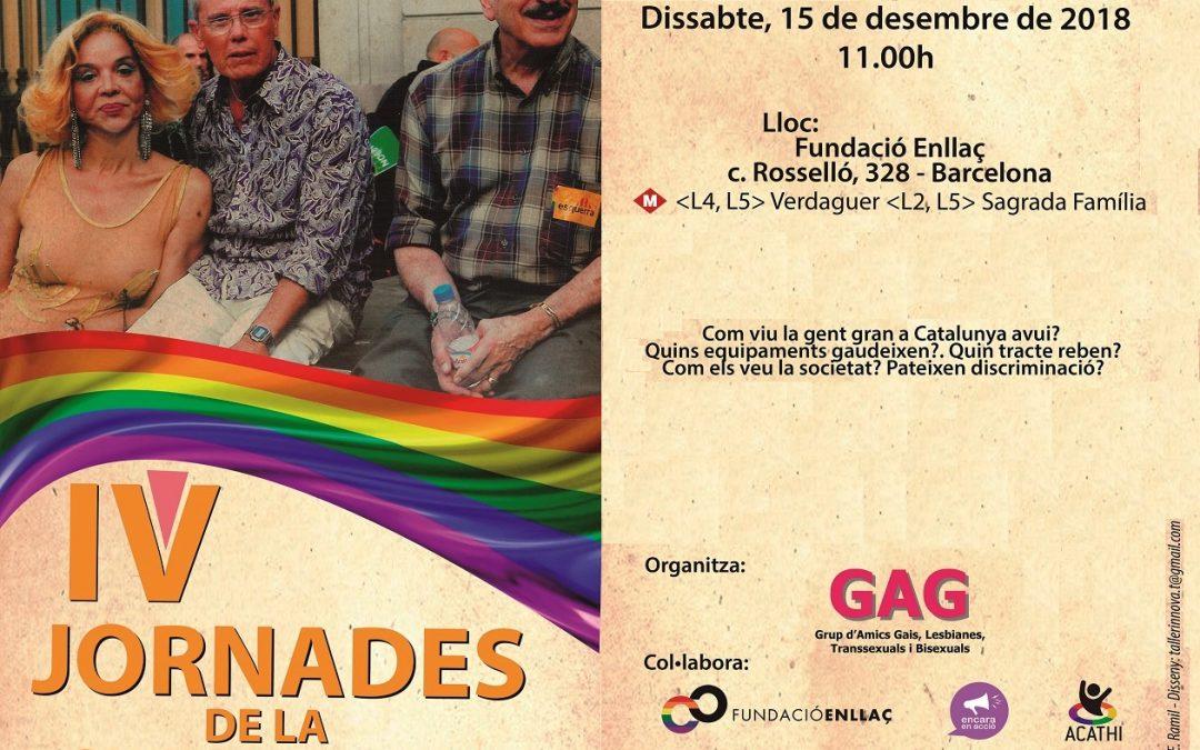 IV Jornadas de la Gent Gran LGTBI – 15 Diciembre 2018
