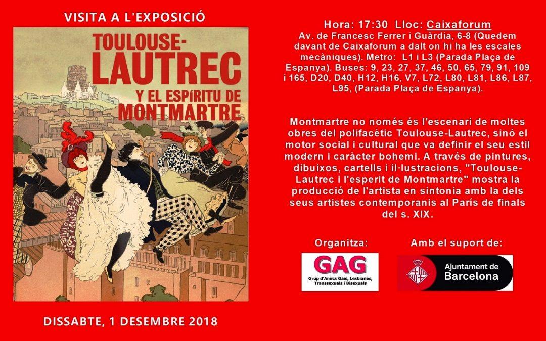 Visita a la Exposición – Toulouse Lautrec – 1 Diciembre