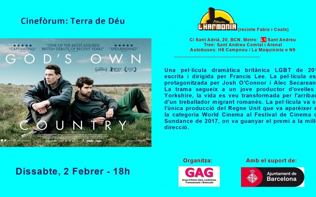 Cineforum – Tierra de Dios – 2 febrer – 18h