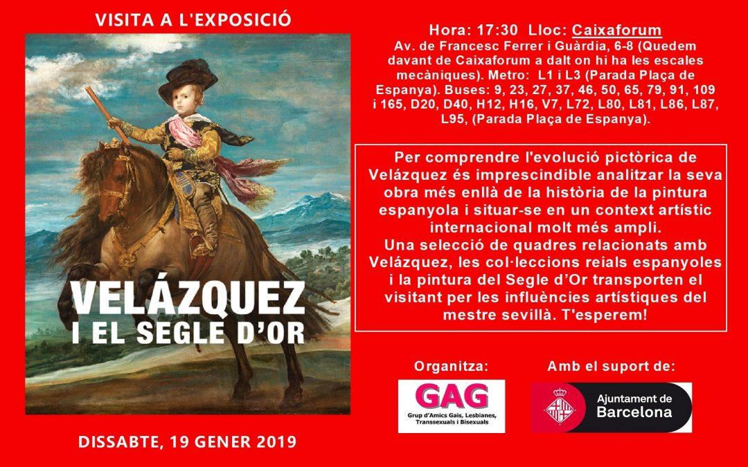 Visita a la Exposición: Velázquez – 19 Enero 2019