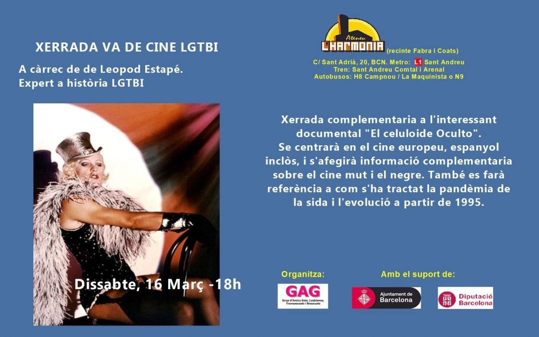Charla de cine LGTBI – 16 Marzo – 18h