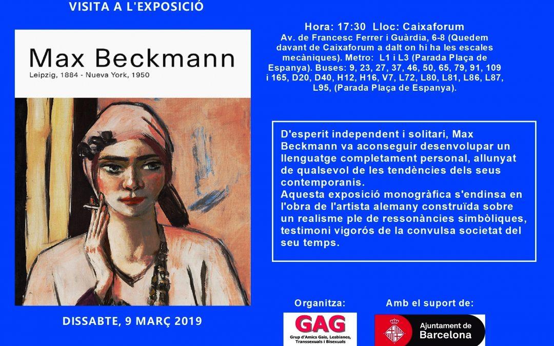 Visita a l'Exposició Max Beckmann – 9 Març