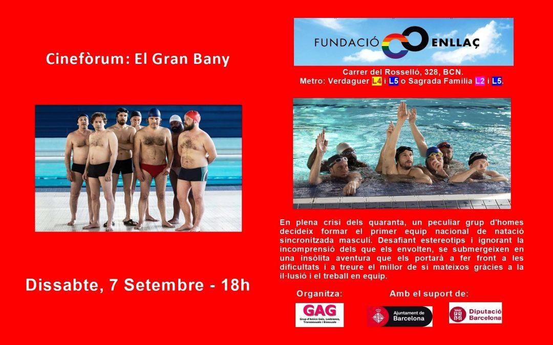 Cinefòrum: El Gran Bany. 7 Setembre – 18h
