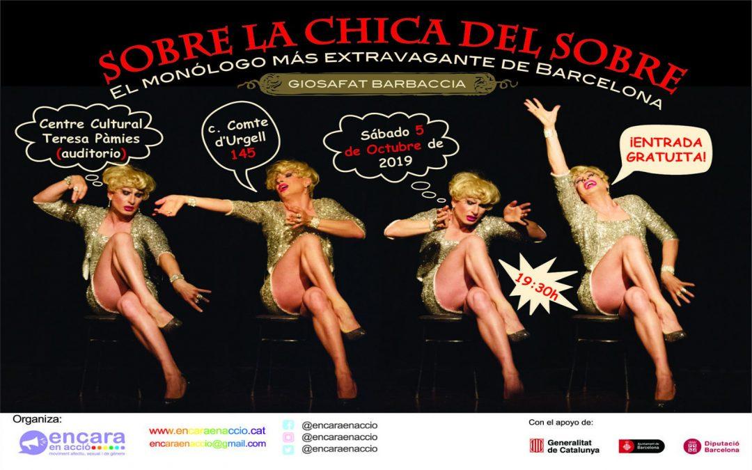 Teatre: Sobre la chica del sobre – 5 Octubre 2019
