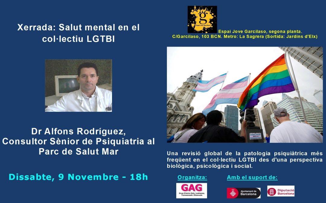 Charla – Salud Mental – 9 Noviembre 2019