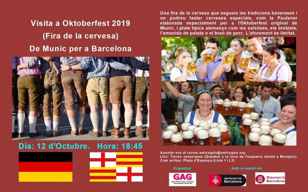 Visita a Oktoberfest 2019 (Fira de la cervesa) – 12 d'octubre de 2019