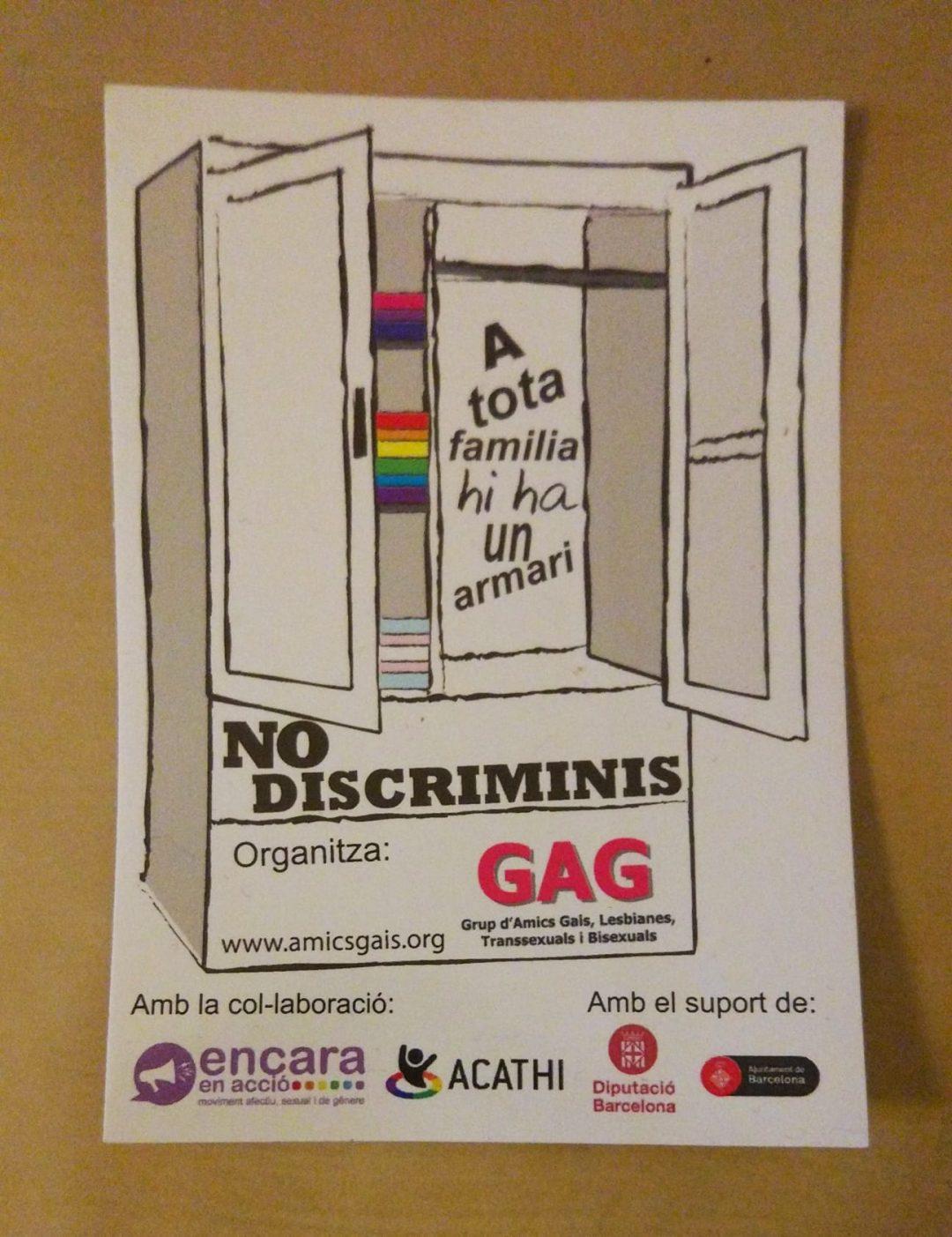 """Campanya """"No discriminis"""""""