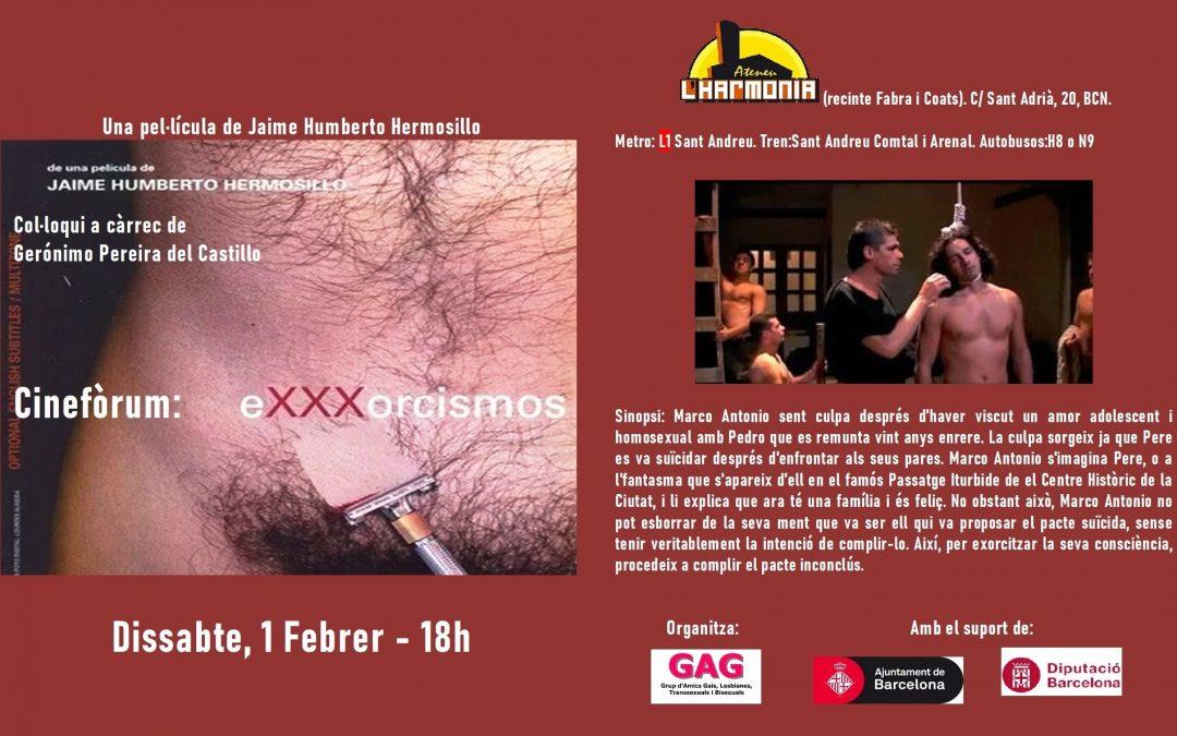 Cineforum: eXXXorcismos. 1 Febrero, 18h