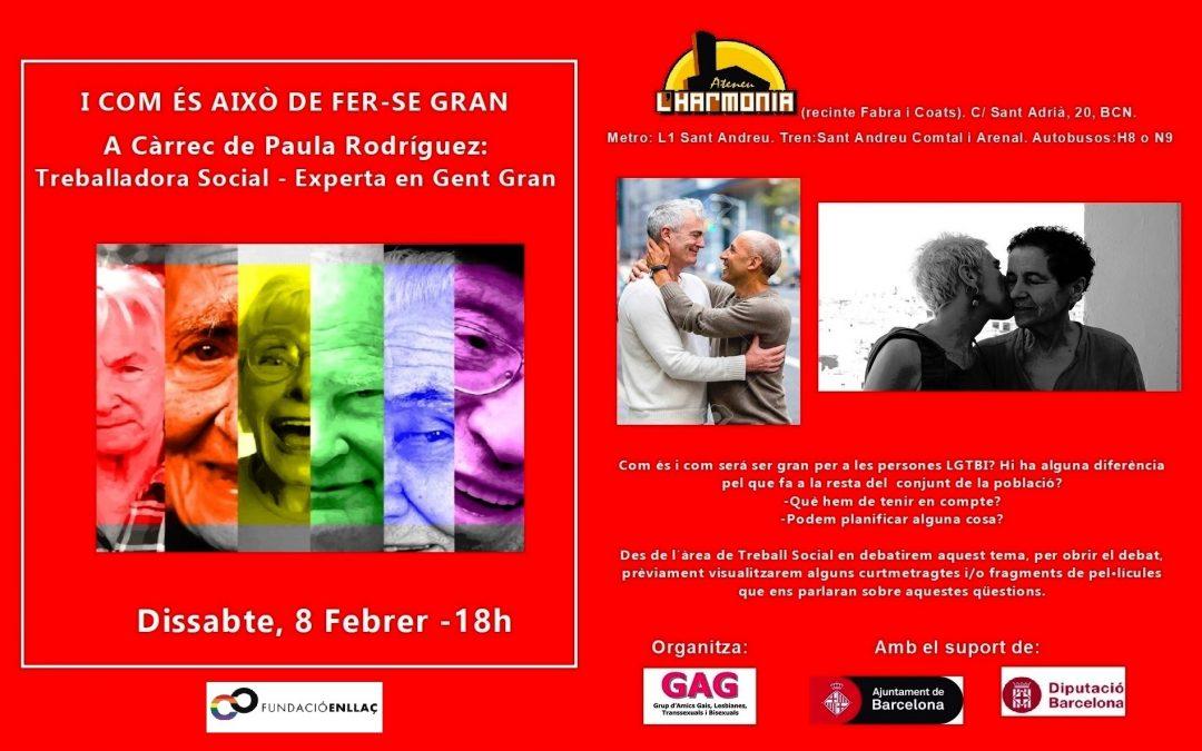 Xerrada – Paula Rodriguez. Dissabte, 8 Febrer – 18h