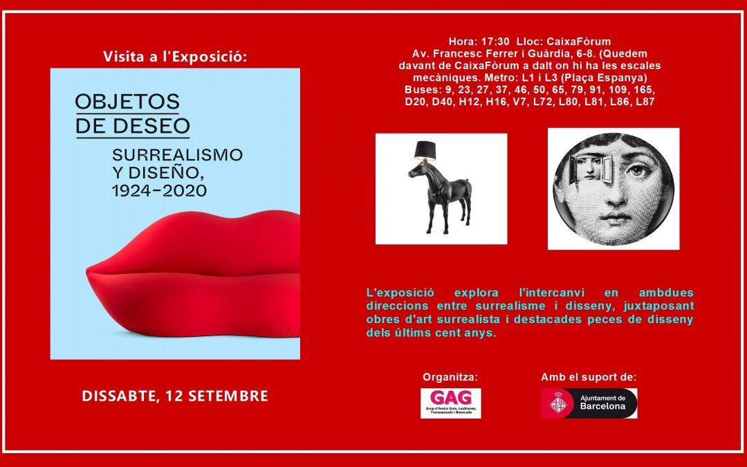 Visita a l'Exposició: Surrealisme i Disseny – 12 setembre 17:30