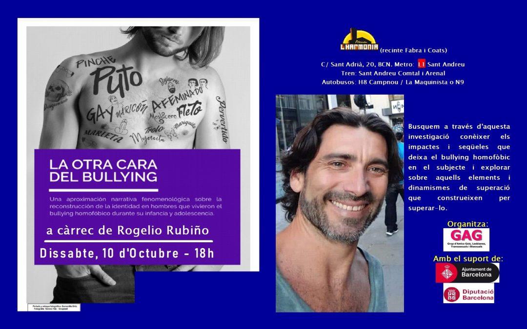 Charla: La Otra Cara del Bullying – 10 Octubre 2020- 18h