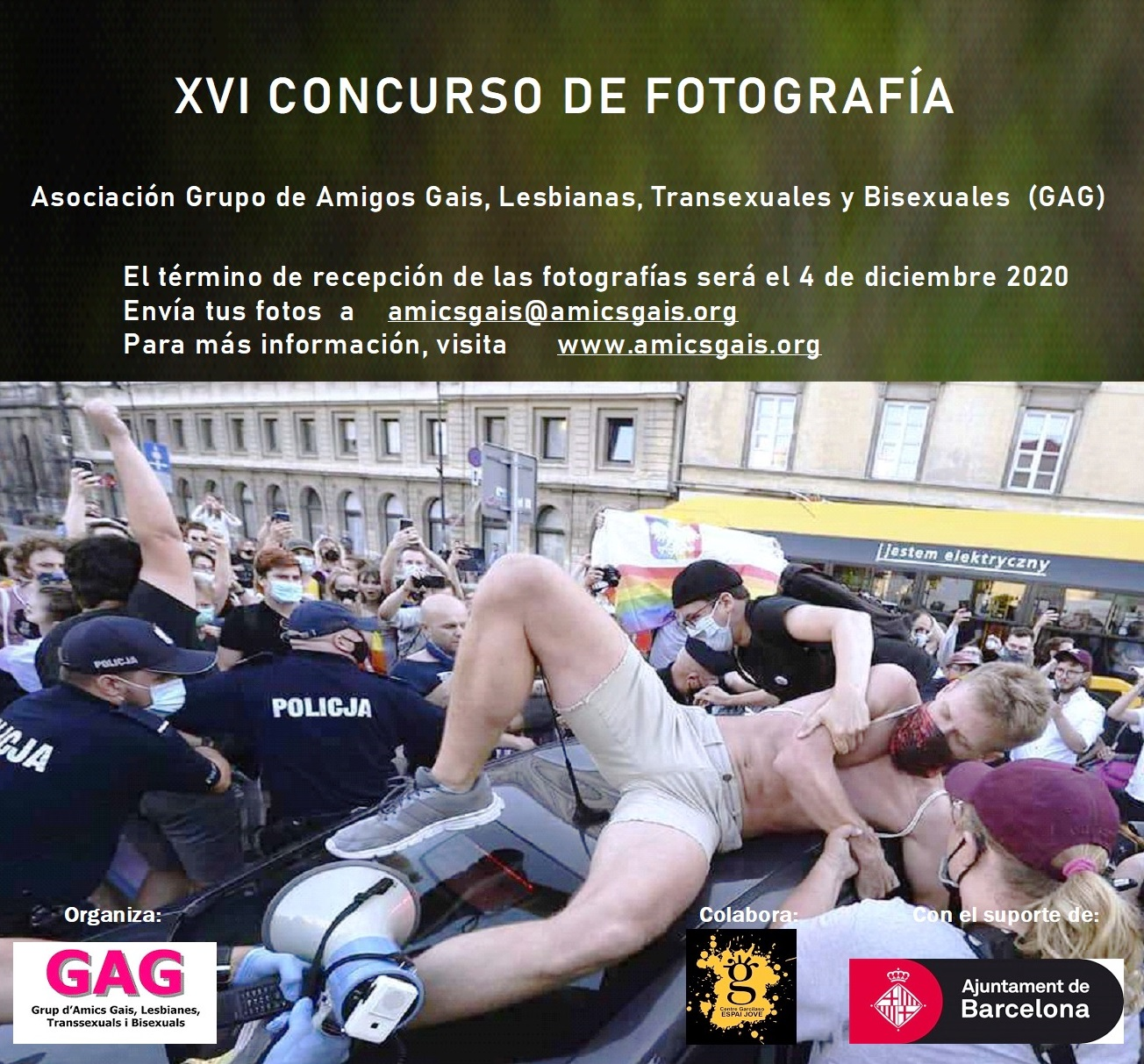 Bases XVI Concurso de fotografía GAG 2020