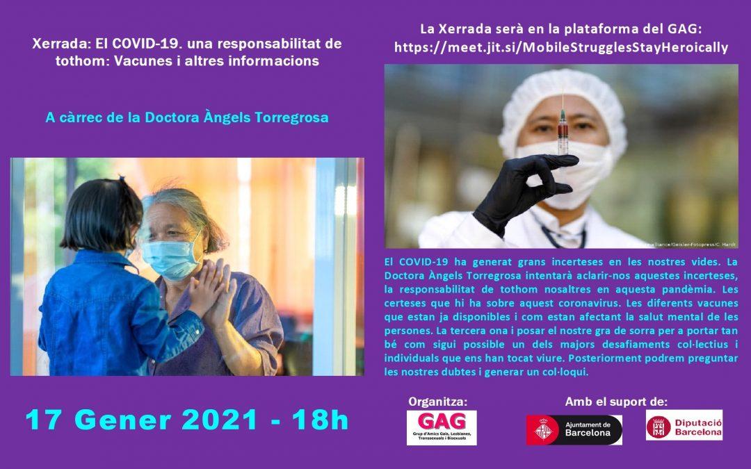 Charla sobre vacunas. 17 de enero 2021 – 18hs
