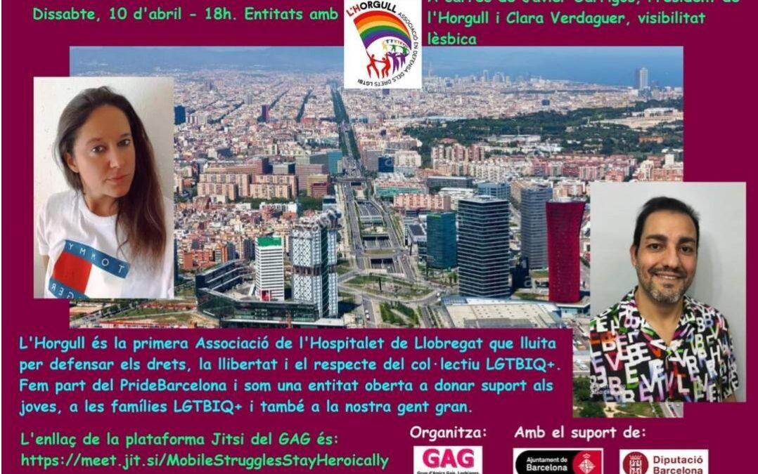 Sábado 10 de Abril a las 18h: Presentación de la Asociación Horgull.