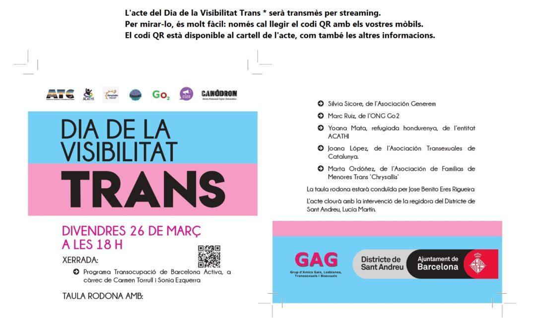 26 de Marzo – 18h: Dia de la Visibilidad Trans https://youtu.be/Hhhc1niz5ak