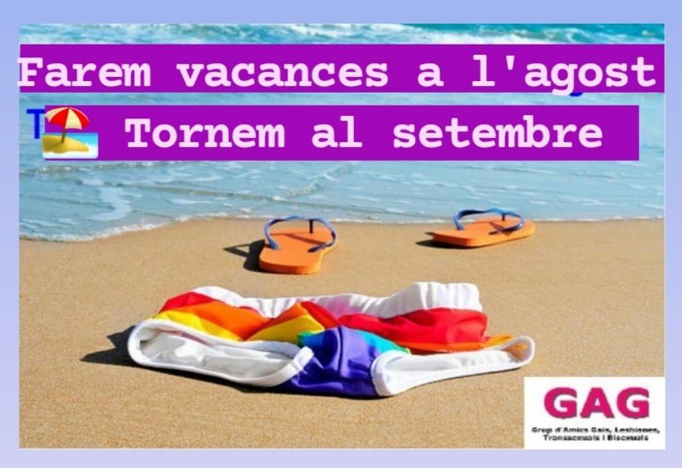 Vacaciones de Agosto 2021