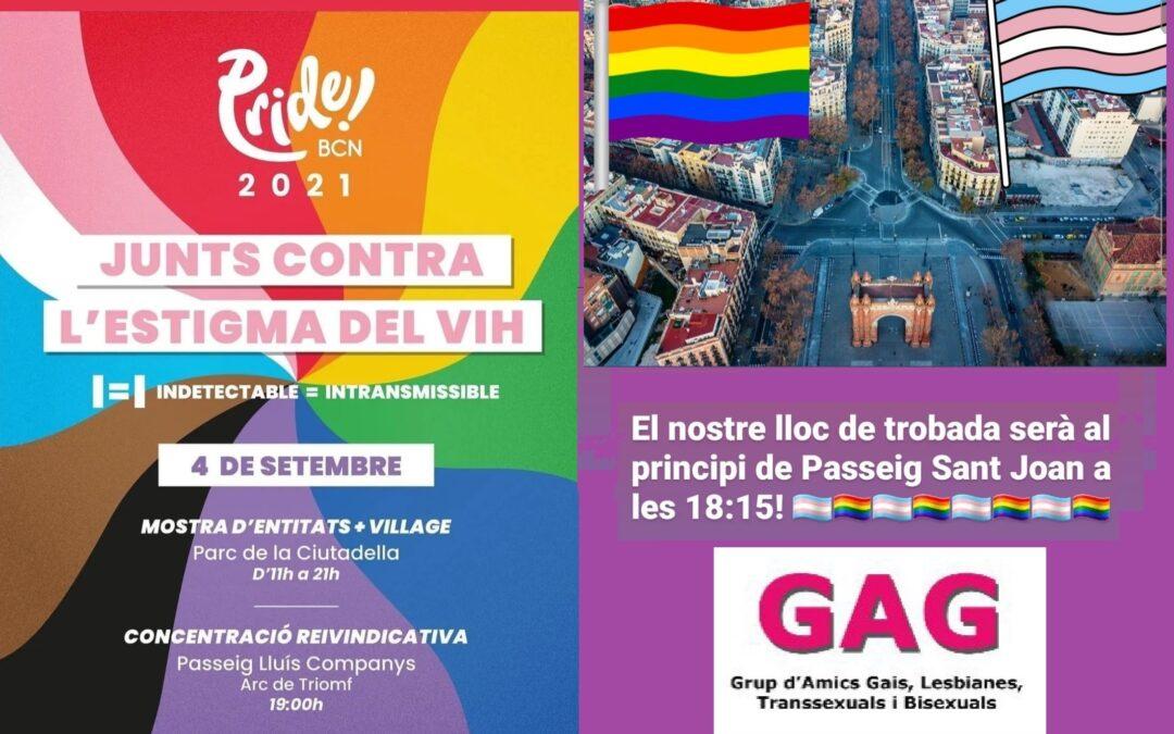 4 SETEMBRE: #PrideBCN2021