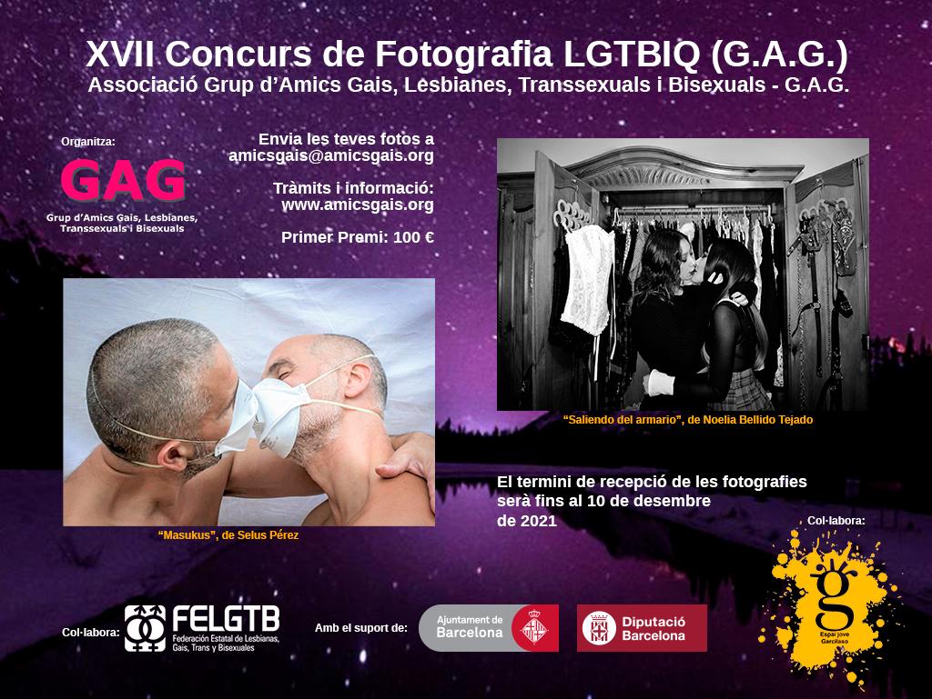 XVII Concurs de Fotografia LGTBIQ GAG 2021
