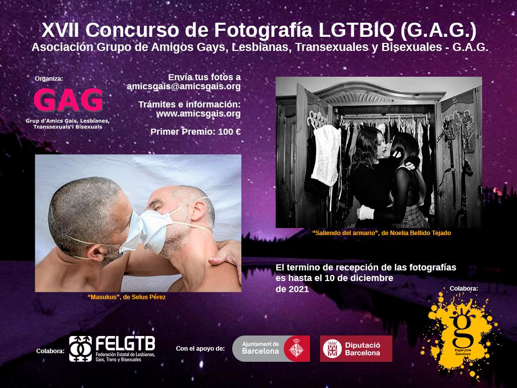 XVII Concurso de Fotografía LGTBIQ GAG 2021