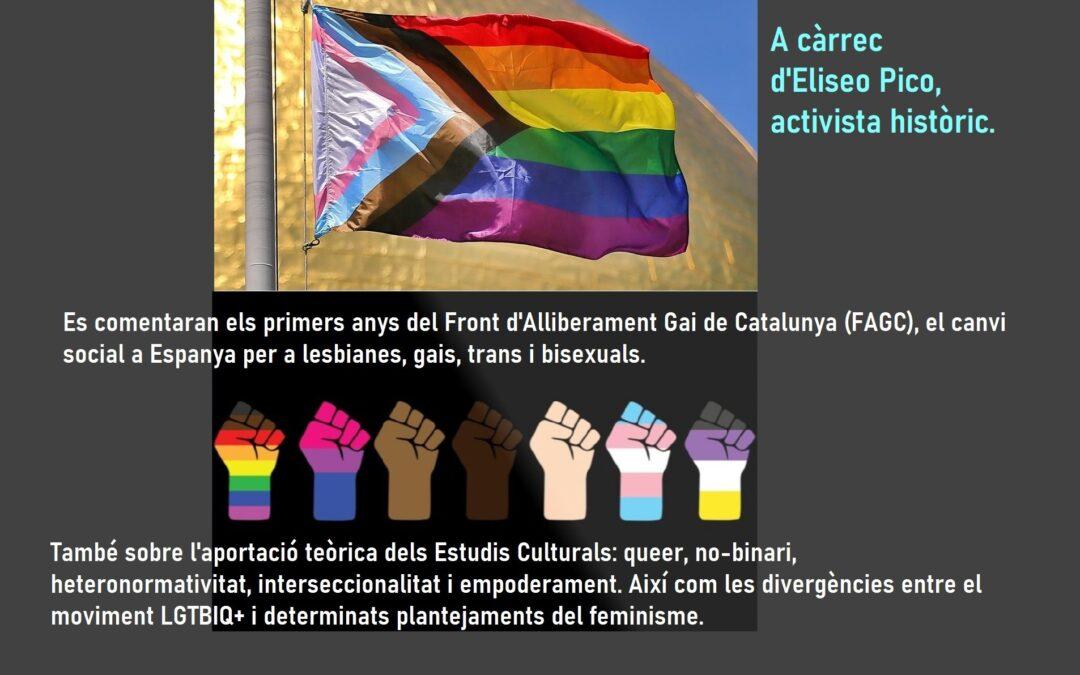 25 Septiembre a las 18h: Reflexiones sobre el colectivo LGTBIQ + y otros movimientos sociales