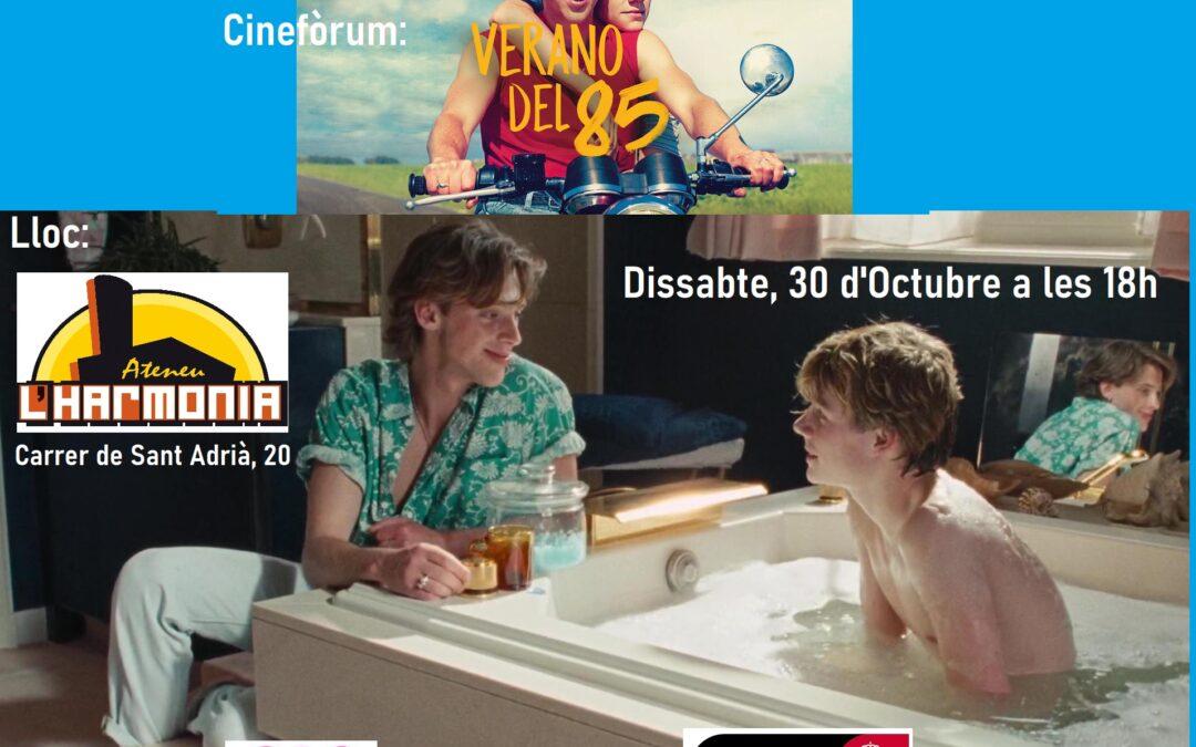 Sábado, 30 de Octubre – 18h: Cineforum – Verano del 85
