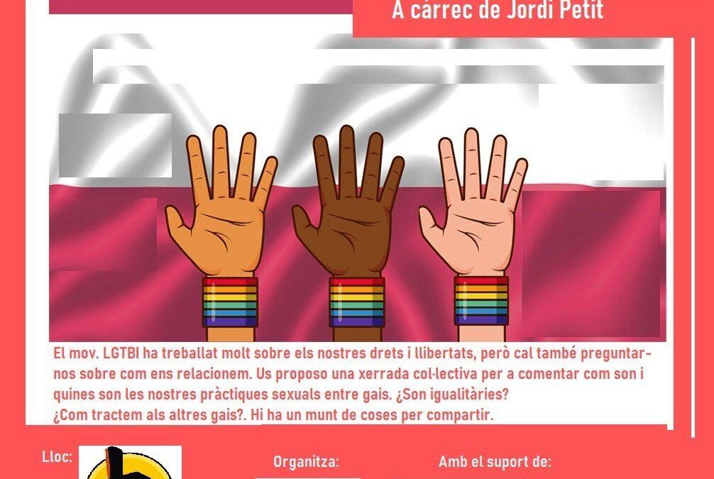 Sábado, 13 de Noviembre a las 18h: ¿SEXO DEMOCRÁTICO? A cargo de Jordi Petit
