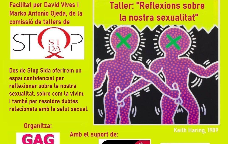 """Sábado, 20 de Noviembre – 18h: Taller- """"Reflexiones sobre nuestra sexualidad"""""""