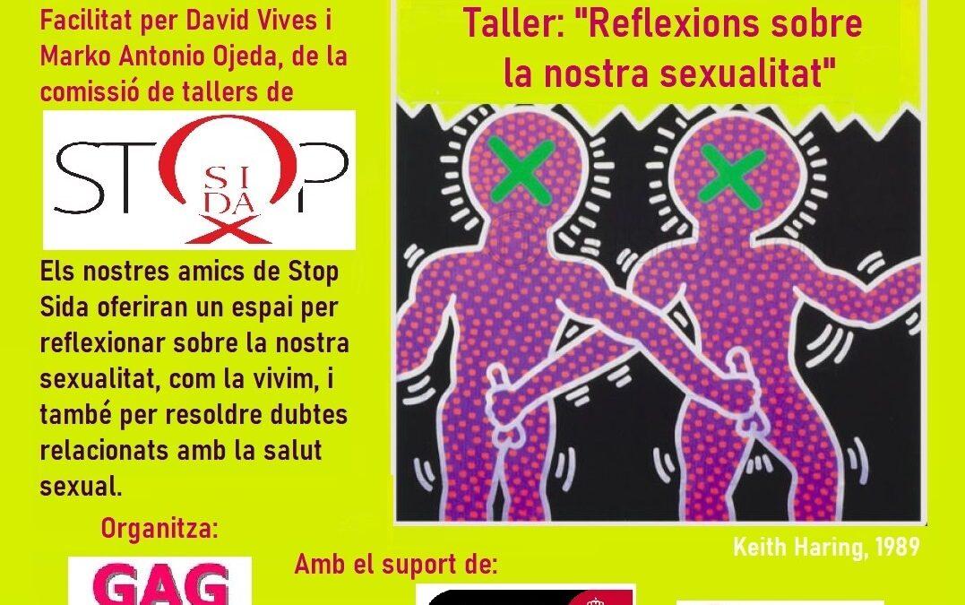 """Dissabte, 20 de Novembre – 18h: Taller- """"Reflexions sobre la nostra sexualitat"""""""